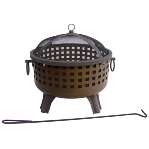 Garden Lights Savannah Fire Pit - Antique Bronze