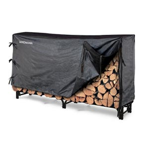 8 ' Log Rack with Cover