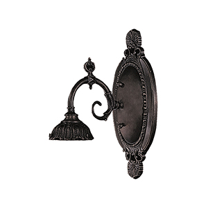 Mix-N-Match Tiffany Bronze Eight-Inch One-Light Wall Sconce
