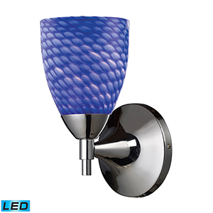 Celina Polished Chrome Five-Inch LED Wall Sconce