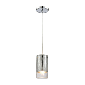 Tallula Polished Chrome Four-Inch One-Light Mini Pendant