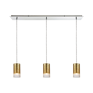 Tallula Polished Chrome Three-Light Pendant