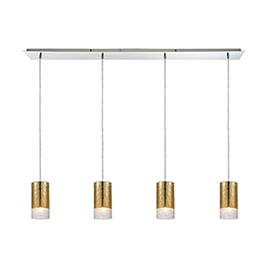 Tallula Polished Chrome Four-Light Pendant