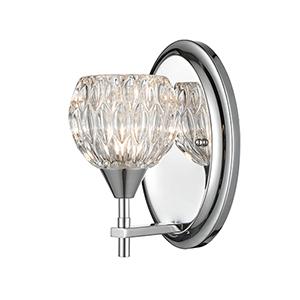 Kersey Polished Chrome One-Light Vanity Light