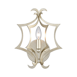 Delray Aged Silver One-Light Wall Sconce
