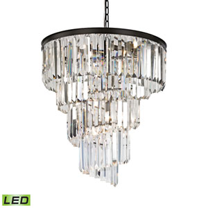 Palacial Oil Rubbed Bronze 26-Inch LED Chandelier