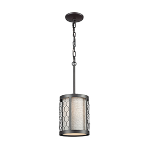 Filmore Oil Rubbed Bronze One-Light Mini Pendant