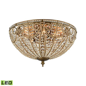 Elizabethan Dark Bronze 22-Inch LED Flush Mount