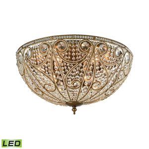 Elizabethan Dark Bronze 28-Inch LED Flush Mount