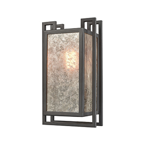 Stasis Oil Rubbed Bronze Seven-Inch One-Light Wall Sconce