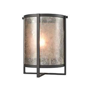 Stasis Oil Rubbed Bronze Nine-Inch One-Light Wall Sconce