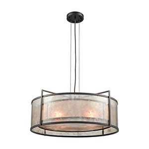 Stasis Oil Rubbed Bronze 25-Inch Four-Light Pendant