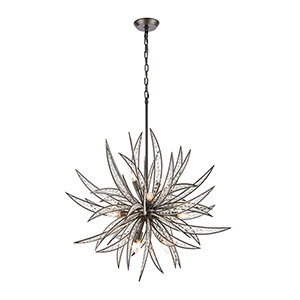 Naples Dark Graphite 11-Light Pendant