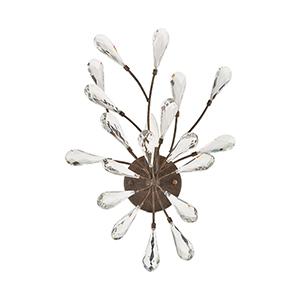 Crislett Sunglow Bronze One-Light Vanity Light