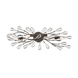 Crislett Sunglow Bronze Four-Light Vanity Light