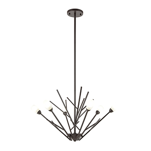 Ocotillo Oil Rubbed Bronze Six-Light Chandelier