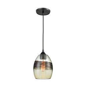 Whisp Oil Rubbed Bronze One-Light Mini Pendant