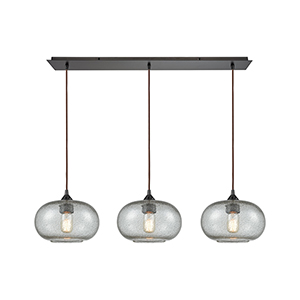 Volace Oil Rubbed Bronze Three-Light Pendant