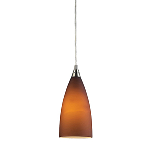 Vesta Satin Nickel Five-Inch One-Light Mini Pendant