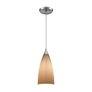 Vesta Satin Nickel One-Light Mini Pendant