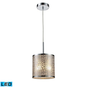 Medina Polished Stainless Steel LED Mini Pendant