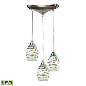 Vines  Three-Light LED Pendant