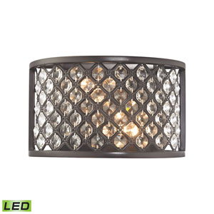 Genevieve Oil Rubbed Bronze LED Wall Sconce