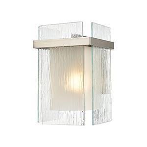 Vellis Satin Nickel One-Light Wall Sconce