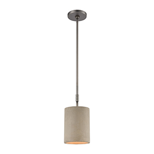 Lexington Avenue Black Nickel One-Light Six-Inch Mini Pendant