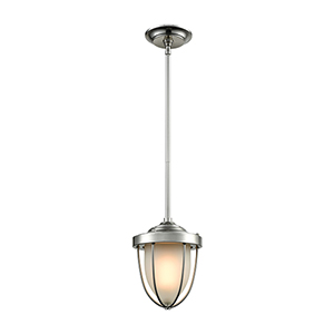 Sturgis Satin Nickel One-Light Mini Pendant