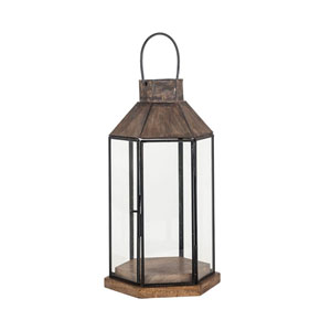 Franklin Antique Zinc Outdoor Lantern