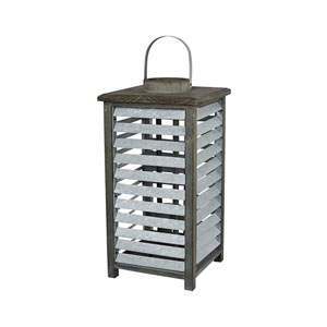 Avery Hill Galvanized Outdoor Lantern