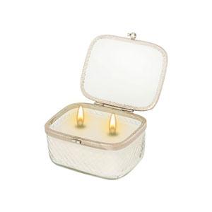 Vanity Ivory Double Wick Candle