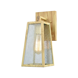 Mediterrano Birtchwood 100W One-Light Outdoor Wall Sconce