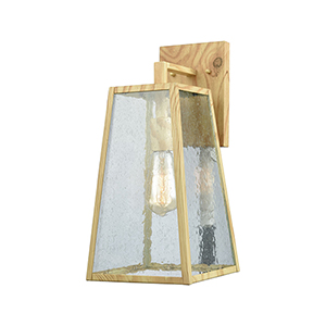 Mediterrano Birtchwood One-Light Outdoor Wall Sconce