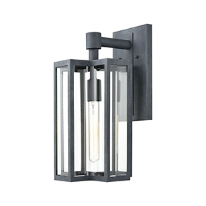 Bianca Aged Zinc One-Light Eight-Inch Wall Sconce