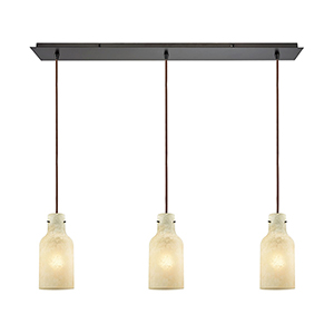 Weatherly Oil Rubbed Bronze Three-Light Pendant