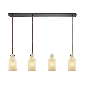 Weatherly Oil Rubbed Bronze Four-Light Pendant