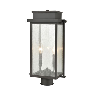Braddock Architectural Bronze Two-Light Outdoor Post Mount