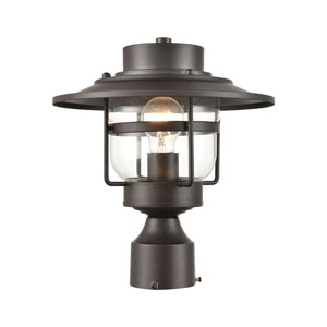 Renninger Oil Rubbed Bronze One-Light Outdoor Post Mount