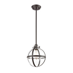 Cusp Oil Rubbed Bronze One-Light Mini Pendant
