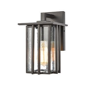 Radnor Matte Black One-Light Six-Inch Wall Sconce