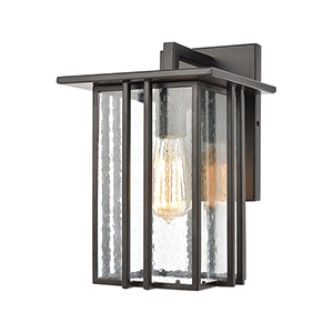 Radnor Matte Black One-Light Eight-Inch Wall Sconce