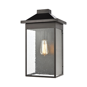 Lamplighter Matte Black One-Light Wall Sconce