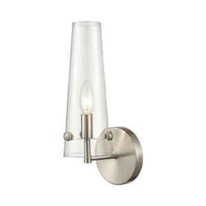 Valante Satin Nickel One-Light Wall Sconce