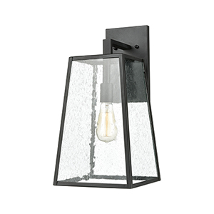 Meditterano Charcoal One-Light Wall Sconce