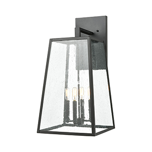 Meditterano Charcoal Four-Light Wall Sconce