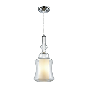 Alora Polished Chrome 100W One-Light Mini Pendant