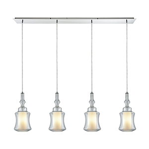 Alora Polished Chrome Four-Light Pendant