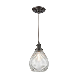 Jackson Oil Rubbed Bronze One-Light Mini Pendant